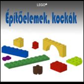 LEGO Építőelemek, kockák