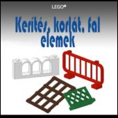 LEGO Kerítés, korlát, fal elemek