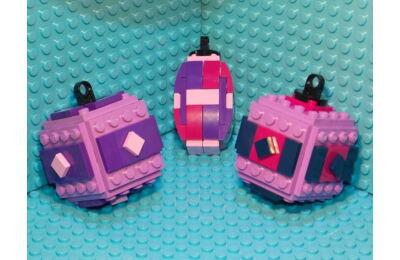 LEGO Karácsonyfadísz 49