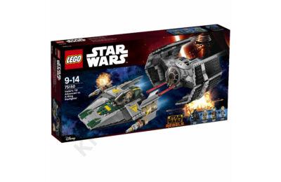 Vader TIE vadászgépe az A-szárnyú csillaghajó ellen