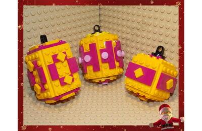 LEGO Karácsonyfadísz 3