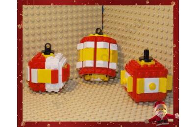 LEGO Karácsonyfadísz 25