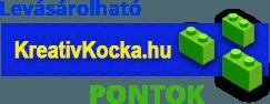 Levásárolható KreativKocka.hu pontok