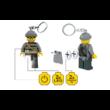 LEGO ® City Betörő világító kulcstartó figura