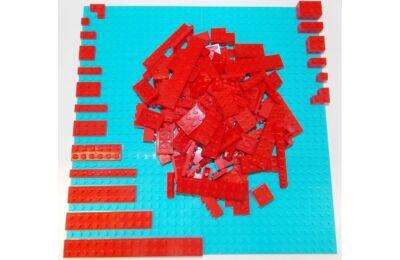 LEGO Szett - Pirosban