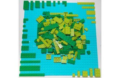 LEGO Szett - Zöld világ