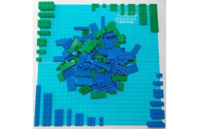 LEGO Szett - Ég és föld