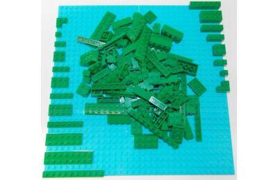 LEGO Szett - Zöld színben