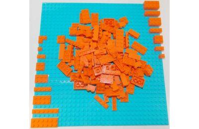 LEGO Szett - Narancs