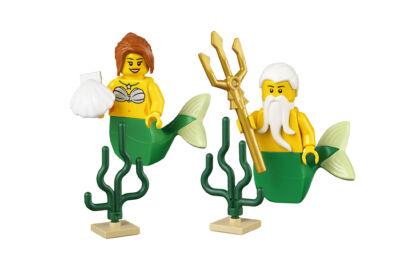 LEGO minifigura - Sellők