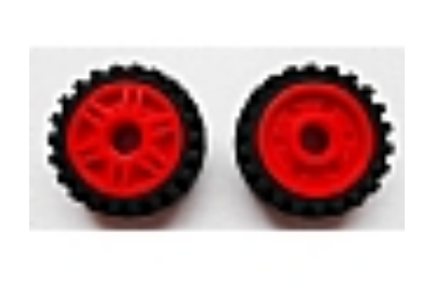 LEGO kerék, gumi és felni, 23 x 7, 18 x 8, komplett O