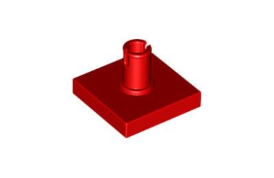 LEGO csempe, módosított, 2 x 2, tetején csatlakozóval