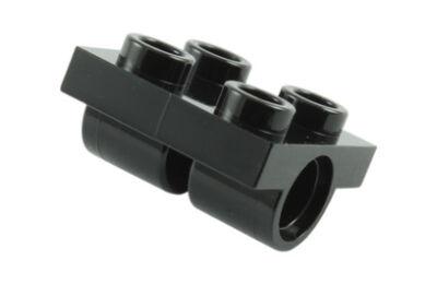 LEGO alaplap módosított, 2 x 2, alul 2 csatlakozó lyukkal