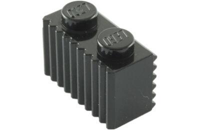 LEGO kocka, módosított, 1 x 2, rácsos