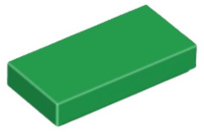LEGO csempe 1 x 2