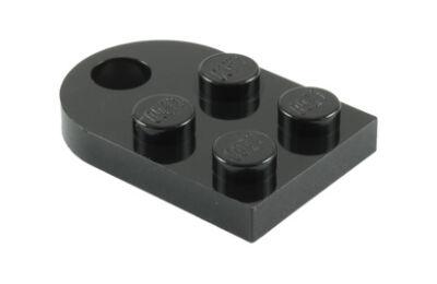 LEGO alaplap, módosított, 3 x 2, íves