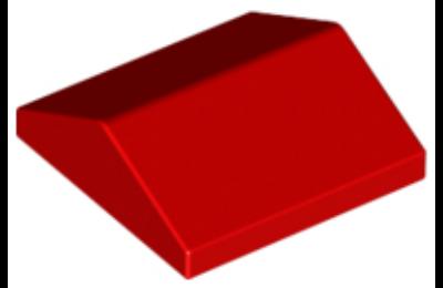 LEGO lejtő 33 fokos 2 x 2, dupla