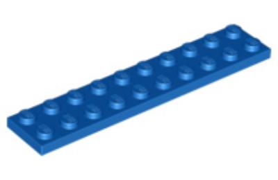 LEGO alaplap 2 x 10