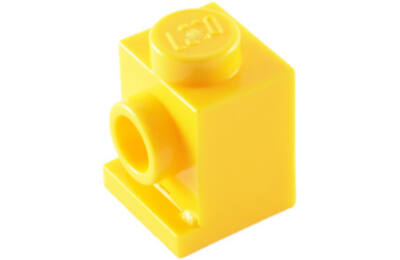 LEGO kocka, módosított, 1 x 1, fényszóró