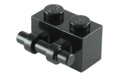 LEGO kocka, módosított, 1 x 2, végein nyitott fogantyúval