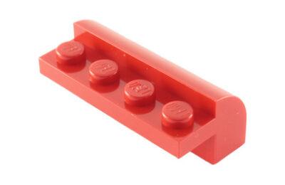 LEGO tető, íves 2 x 4 x 1 1/3