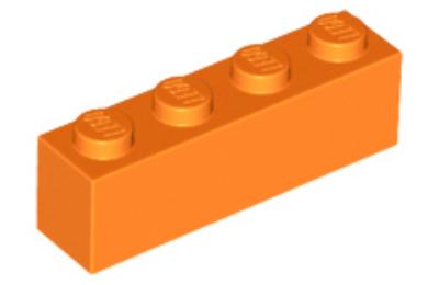 LEGO kocka 1 x 4