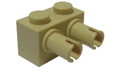 LEGO kocka, módosított, 1 x 2, oldalán 2 csatlakozóval