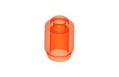 LEGO kocka, henger 1 x 1, tetején nyílással