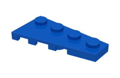 LEGO alaplap, ferde, 4 x 2 jobbos
