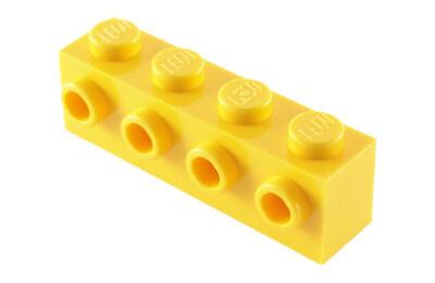 LEGO kocka, módosított, 1 x 4, 4 csatlakozóval az oldalán