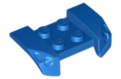 LEGO jármű, sárvédő 2 x 4, fényszóróval