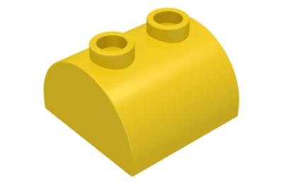LEGO tető, 2 x 2 dupla íves