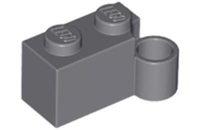 LEGO zsanér kocka 1 x 2 forgó bázis