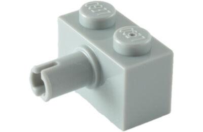 LEGO kocka, módosított, 1 x 2, oldalán csatlakozóval