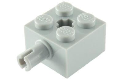 LEGO kocka módosított, 2 x 2, keréktartó csatlakozóval