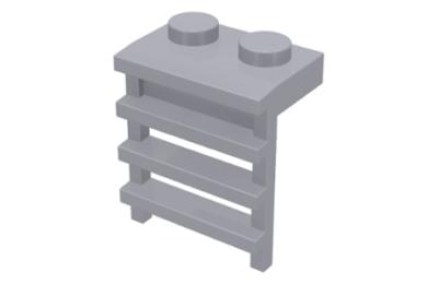 LEGO alaplap, módosított 1 x 2 létrával