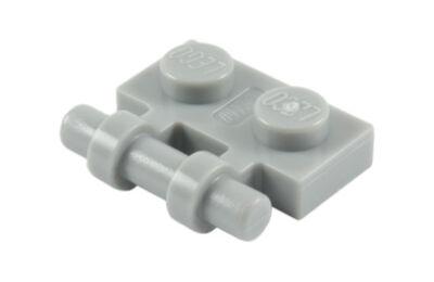 LEGO Alaplap, Módosított, 1 x 2 fogantyúval oldalán szabad végekkel