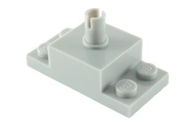 LEGO kocka, módosított, 2 x 4-es alapon, 2 x 2-es kocka csatlakozóval
