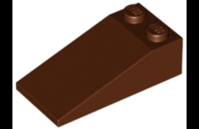 LEGO tető/lejtő 18 4 x 2
