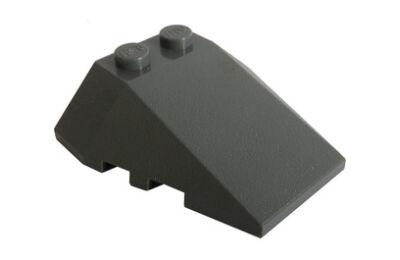 LEGO tető, íves 4 x 4, felső csatlakozóval