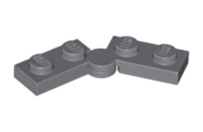LEGO zsanér alap 1 x 4 forgatható - komplett