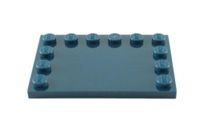 LEGO csempe, módosított 4 x 6, szélein csatlakozókkal