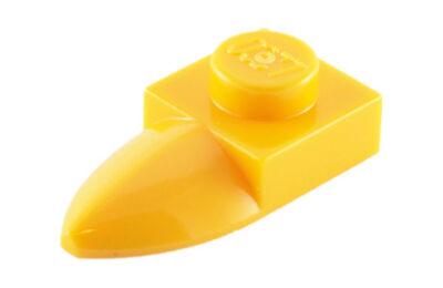 LEGO alaplap, módosított, 1 x 1  1 vízszintes foggal