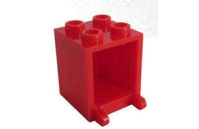LEGO konténer, postaláda, 2 x 2 x 2