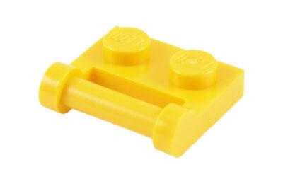 LEGO alaplap, módosított, 1 x 2 fogantyúval oldalán zárt végekkel