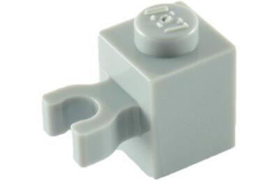 LEGO kocka, módosított, 1 x 1, vízszintes U csatlakozóval, típus 1