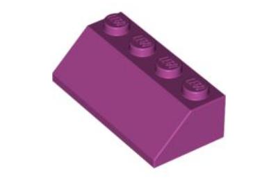 LEGO tető/lejtő 45 2 x 4