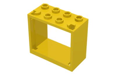 LEGO ablakkeret, 2 x 4 x 3
