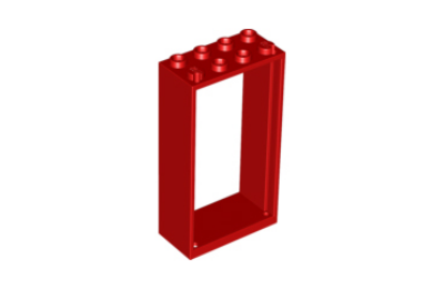 LEGO ajtó keret 2 x 4 x 6