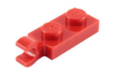 LEGO alaplap, módosított, 1 x 2 függőleges U klippel a végén